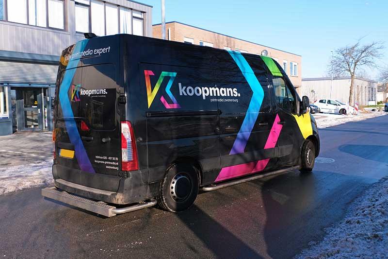 Bus Koopmans. printmedia