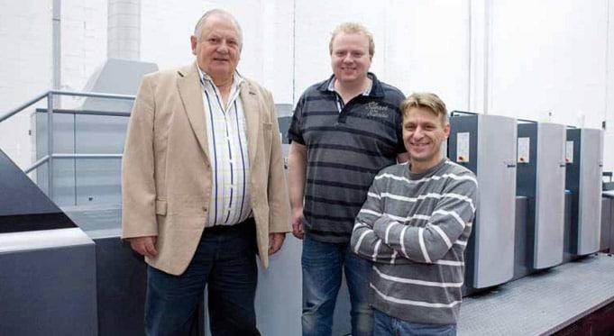 Henk, Frank en Ed Koopmans